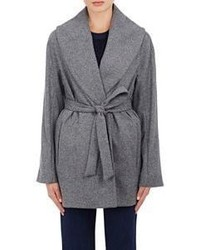 Atea Oceanie Wrap Coat Grey
