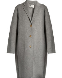 Acne Studios Avalon Doubl Wool Blend Coat
