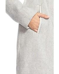 Jessica Simpson Belted Basket Weave Wrap Coat