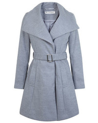 Miss Selfridge Belted Jersey Coat