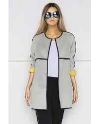 Boohoo Boutique Olivia Bonded Cocoon Coat