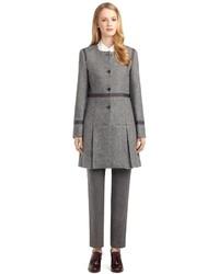 Brooks Brothers Pleat Skirt Coat