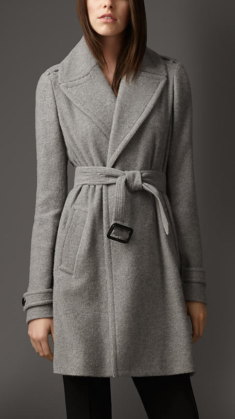 Burberry Cashmere Belted Wrap Coat | Where to buy & how to wear