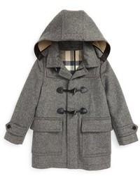 Burberry Girls Burwood Wool Toggle Coat