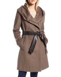 Cole Haan Signature Cole Haan Asymmetrical Wool Coat