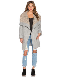 Free People Cozy Belted Wrap Coat