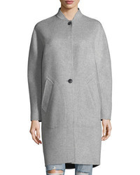 Rag & Bone Darwen Long Line Wool Cashmere Long Coat