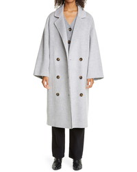 Loulou Studio Double Breasted Wool Cashmere Coat