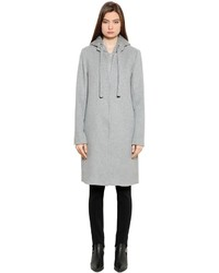 Designers Remix Edwin Hooded Wool Blend Coat