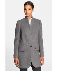 Stella McCartney Embellished Wool Blend Coat