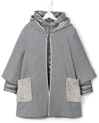 Fay Kids Layered Coat