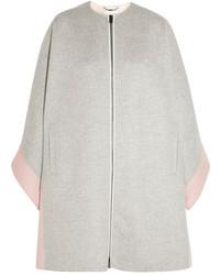 Fendi Two Tone Cashmere Coat