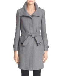 Burberry Gibbsmoore Funnel Collar Trench Coat