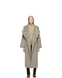 Totême Grey Annecy Coat