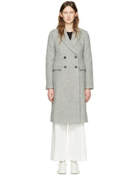 Isabel Marant Grey Danki K Coat