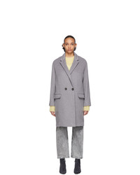Isabel Marant Grey Filipo Coat