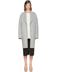 Acne Studios Grey Landi Doubl Coat