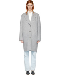 Acne Studios Grey Landi Doubl Coat
