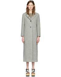 Isabel Marant Grey Long Duard K Coat