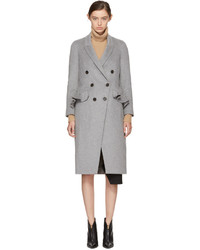 Burberry Grey Trentwood Coat