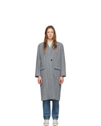 Isabel Marant Etoile Grey Wool Henlo Coat