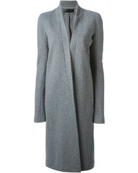 Haider Ackermann Stand Up Collar Fitted Coat