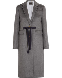 J.Crew Collection Olivia Wool And Cashmere Blend Coat Gray