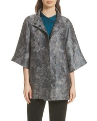 Eileen Fisher Jacquard A Line Jacket