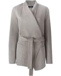 Joseph Belted Wrap Coat