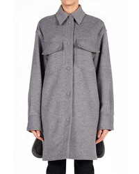 Stella McCartney Kerry Oversize Wool Utility Coat