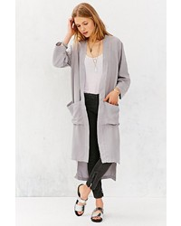 Tencel Lacausa Mid Calf Coat