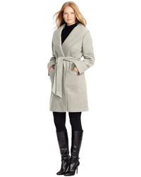 Lauren Ralph Lauren Plus Size Belted Wrap Coat