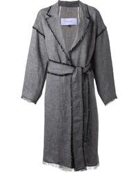 Le Ciel Bleu Belted Overcoat