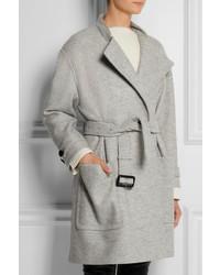 ab6d6cf66c93f ... Burberry London Belted Wool Coat ...