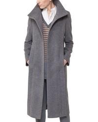 Akris Punto Long Wool Blend Coat