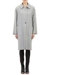 Maison Margiela Felt Coat Grey