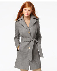 MICHAEL Michael Kors Michl Michl Kors Hooded Belted Walker Coat