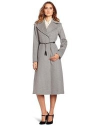 Via Spiga Midi Length Wool Coat