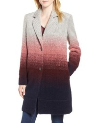 Andrew Marc Ombre Two Button Car Coat
