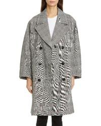 Ganni Oversize Double Breasted Coat