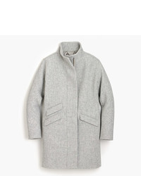 J.Crew Petite Italian Stadium Cloth Wool Cocoon Coat