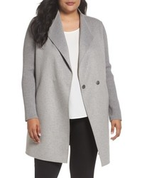 Kenneth Cole New York Plus Size Double Face Coat