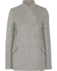 Proenza Schouler Double Breasted Wool Blend Coat