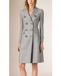 Burberry Prorsum Tailored Double Breasted Cashmere Coat