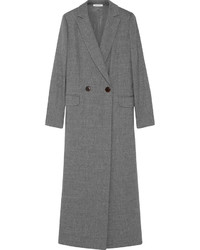 Protagonist Double Breasted Stretch Wool Coat