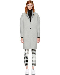 Rag & Bone Rag And Bone Reversible Grey Darwen Coat