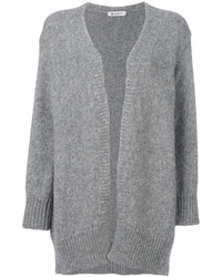 Dondup Ribbed Detail Cardi Coat