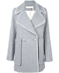 See by Chloe See By Chlo Ribbon Trim Coat