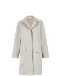 Gloria Coelho Side Slits Cape Coat