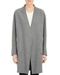 Rag & Bone Singer Reversible Coat Light Grey